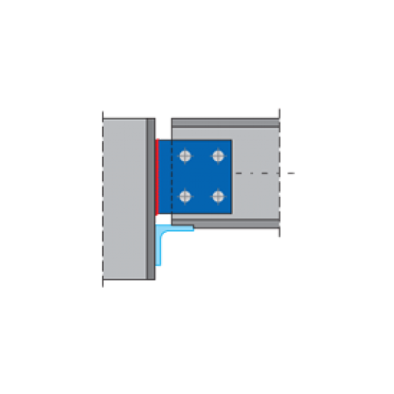 BEAM SPLICE connection  + DXF