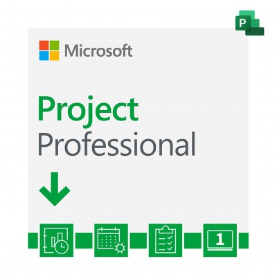 Microsoft Project Professional 2019 ESD H30-05756