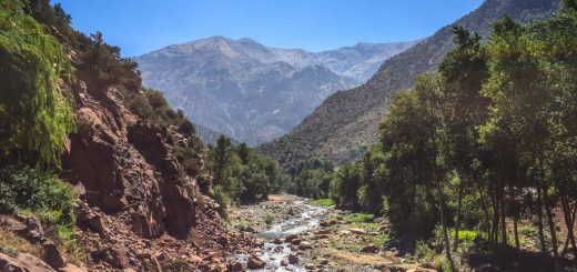 Ourika Valley, no Marrocos