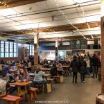 ambiente da Brooklyn Brewery