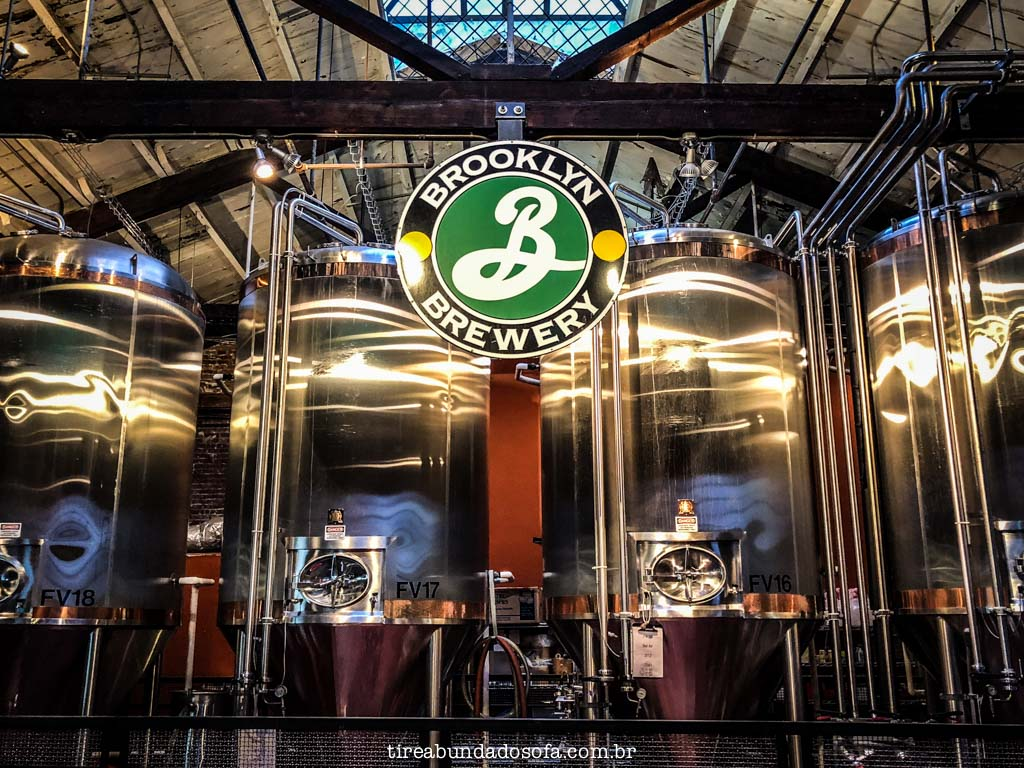 Brooklyn Brewery, no brooklyn, em nova york