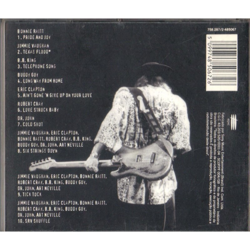 cd a tribute to stevie ray vaughan. Black Bedroom Furniture Sets. Home Design Ideas