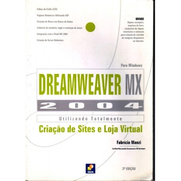 Dreamweaver Mx 2004 - Utilizando Totalmente para Windows