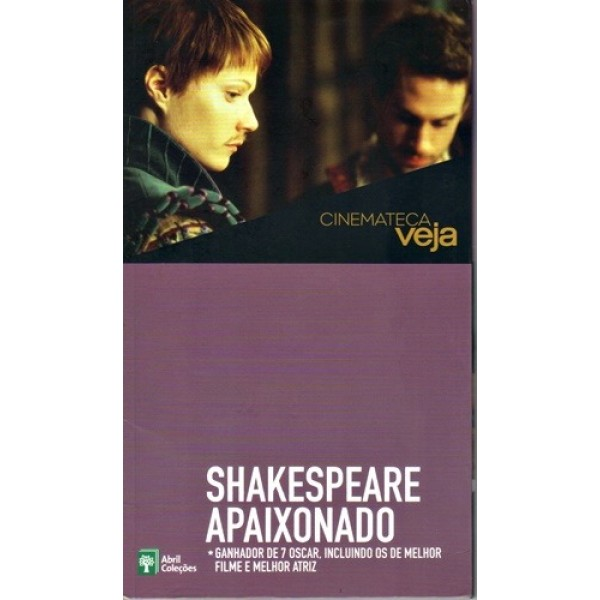 Shakespeare Apaixonado - Vol. 33 - Cinemateca Veja - Acompanha Dvd