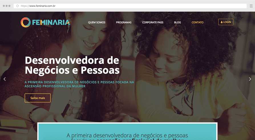 criação sites wordpress