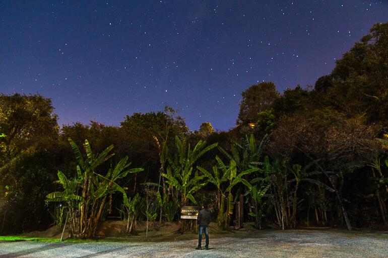 Céu estrelado em Macacos! (Foto tirada na Pousada Vila Solaris)