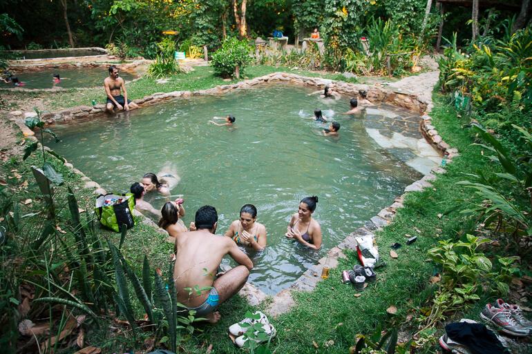 Águas Termais do Éden e Jardim de Maytrea - uma das piscinas termais