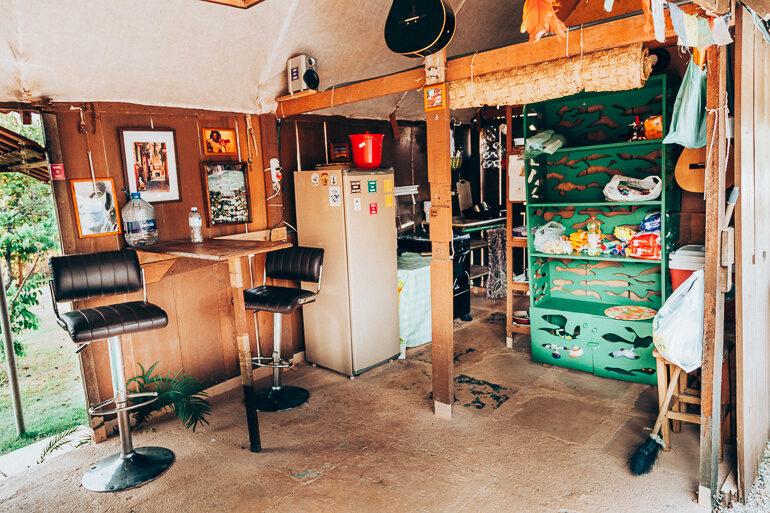 Cozinha - Camping Viveiro