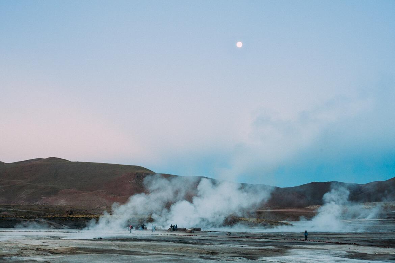 Roteiro no Deserto do Atacama - Geiseres el Tatio