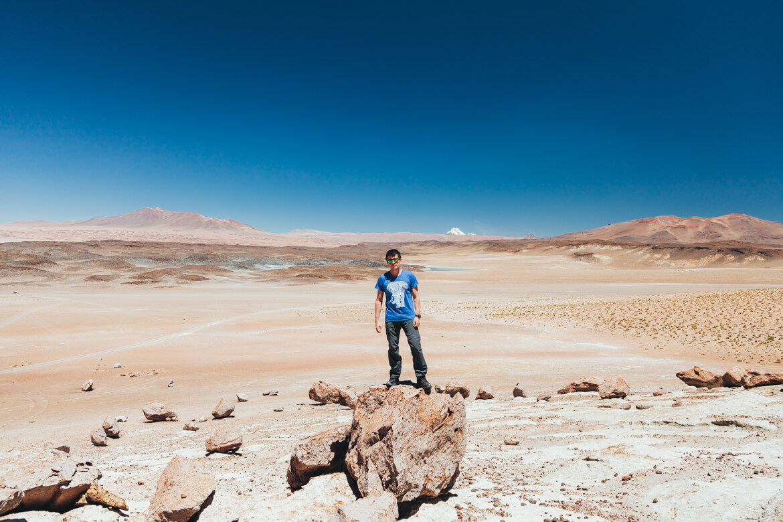 Roteiro no Deserto do Atacama - Salar de Tara