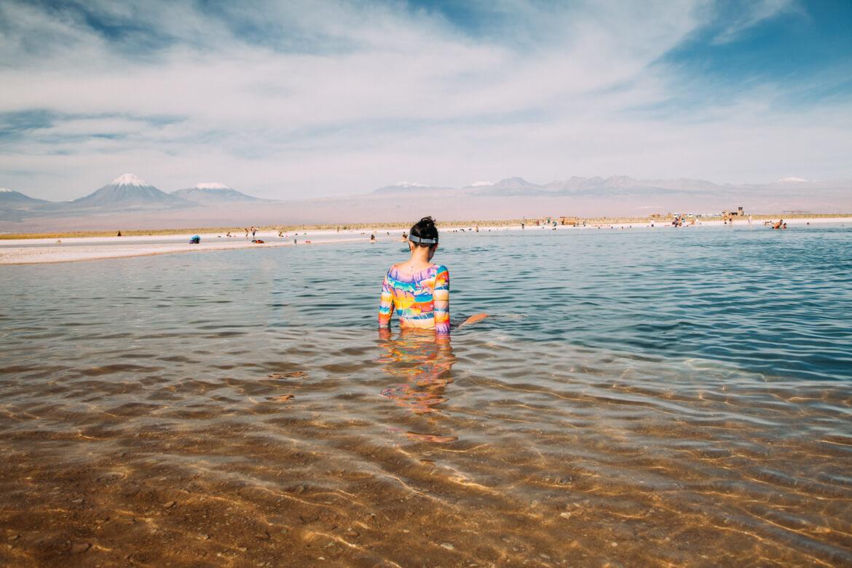 Laguna Piedra, Deserto do Atacama - passeio pela Laguna Cejar
