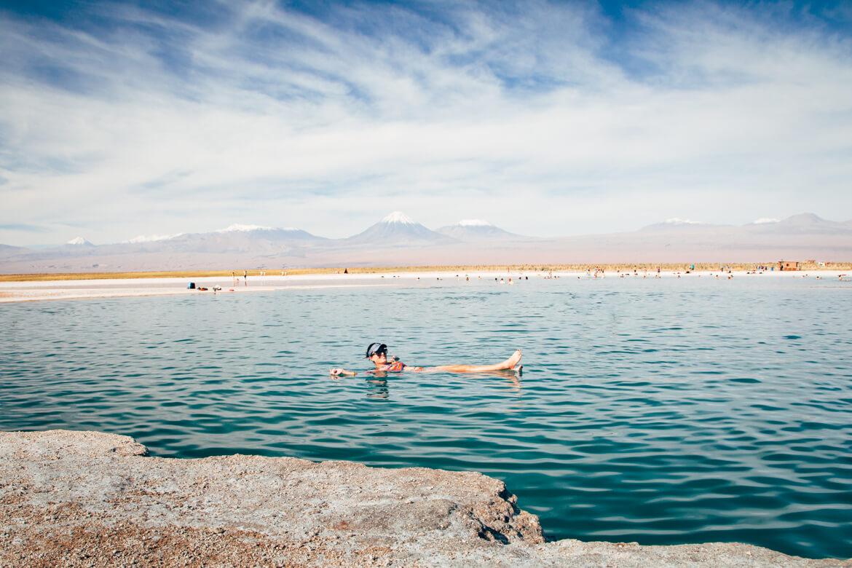 Roteiro no Deserto do Atacama - Laguna Cejar