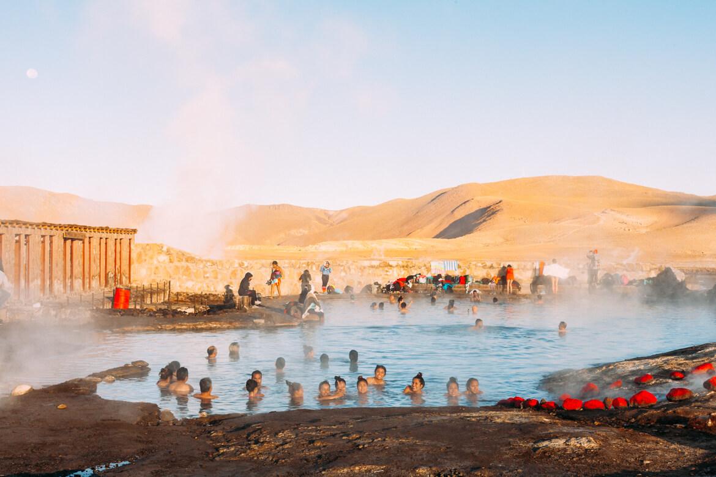 Geysers el Tatio - piscina termal