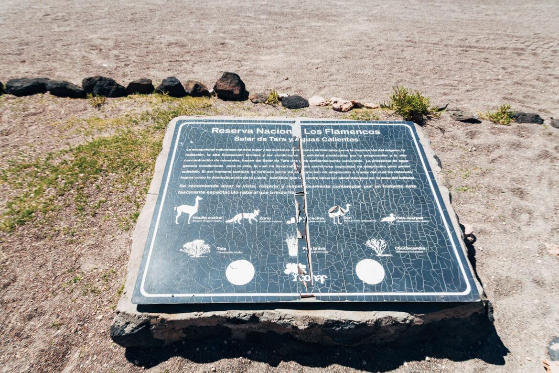 O Salar de Tara faz parte da Reserva Nacional Los Flamencos