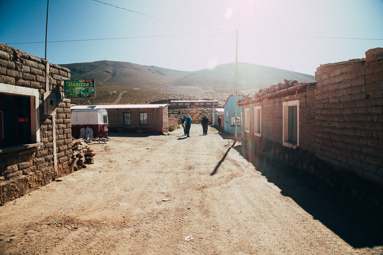 Uma das ruazinhas de Villamar