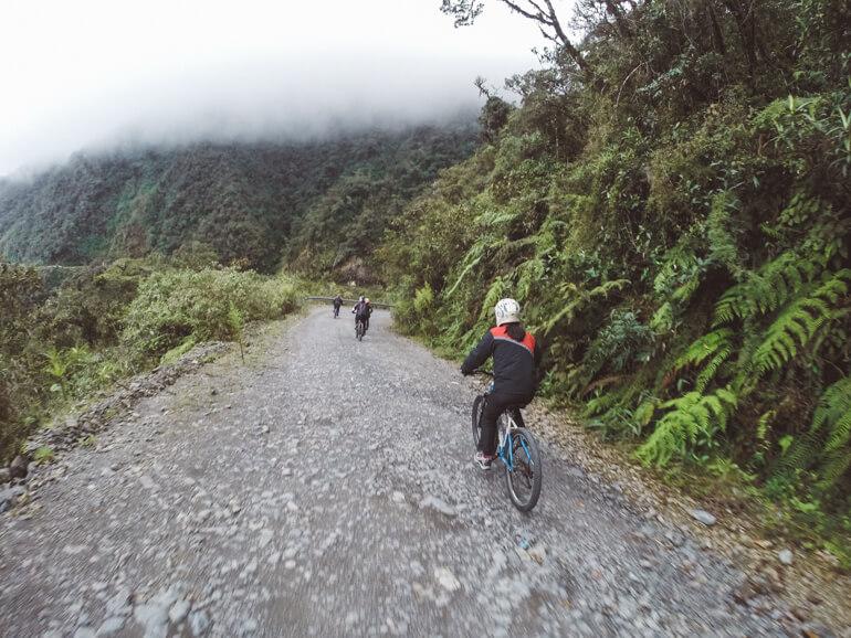 Estrada da Morte, Bolívia
