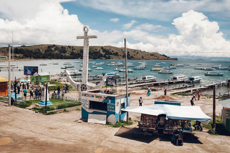 Isla del Sol - pier