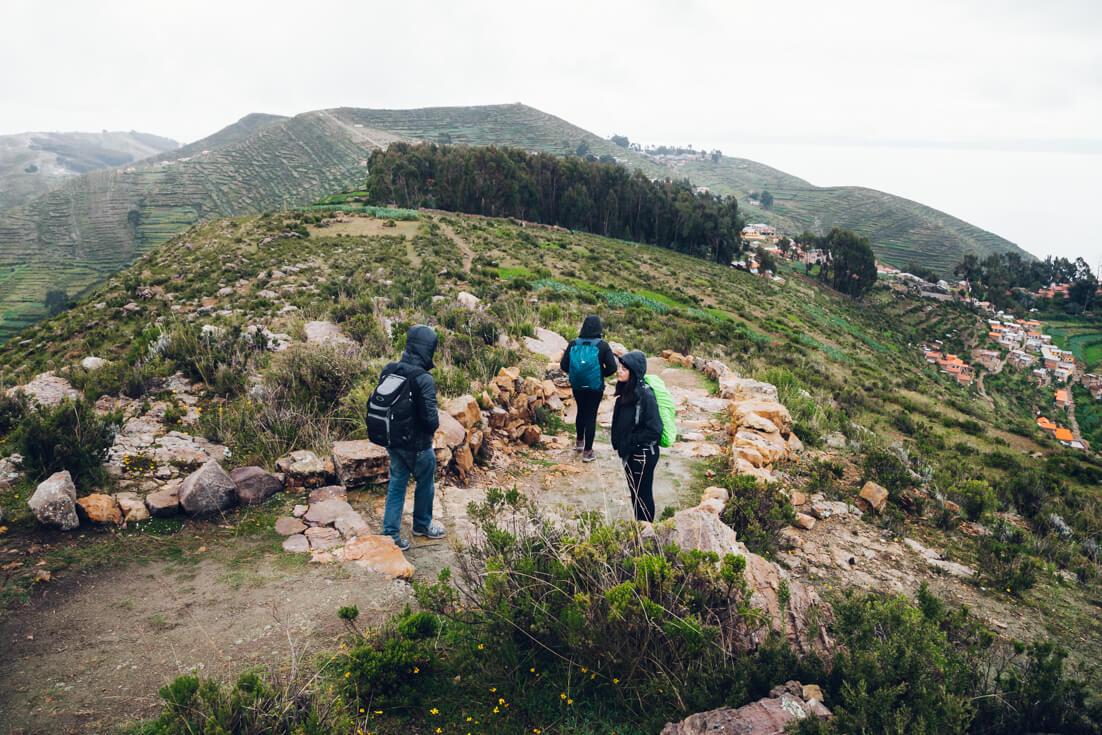 Isla del Sol - trilha