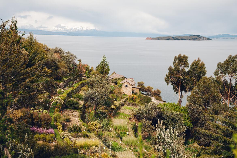 Isla del Sol - paisagem