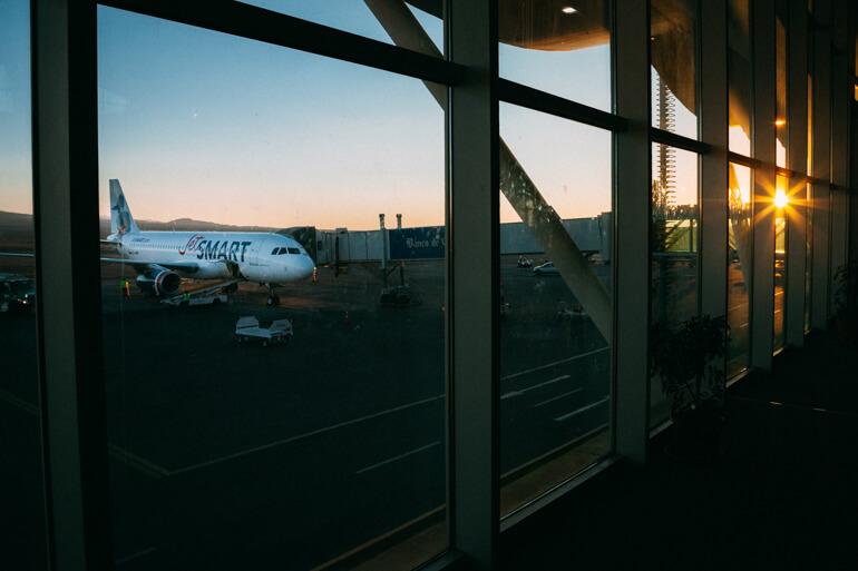 Quanto custa conhecer o Atacama? - Aeroporto de Calama
