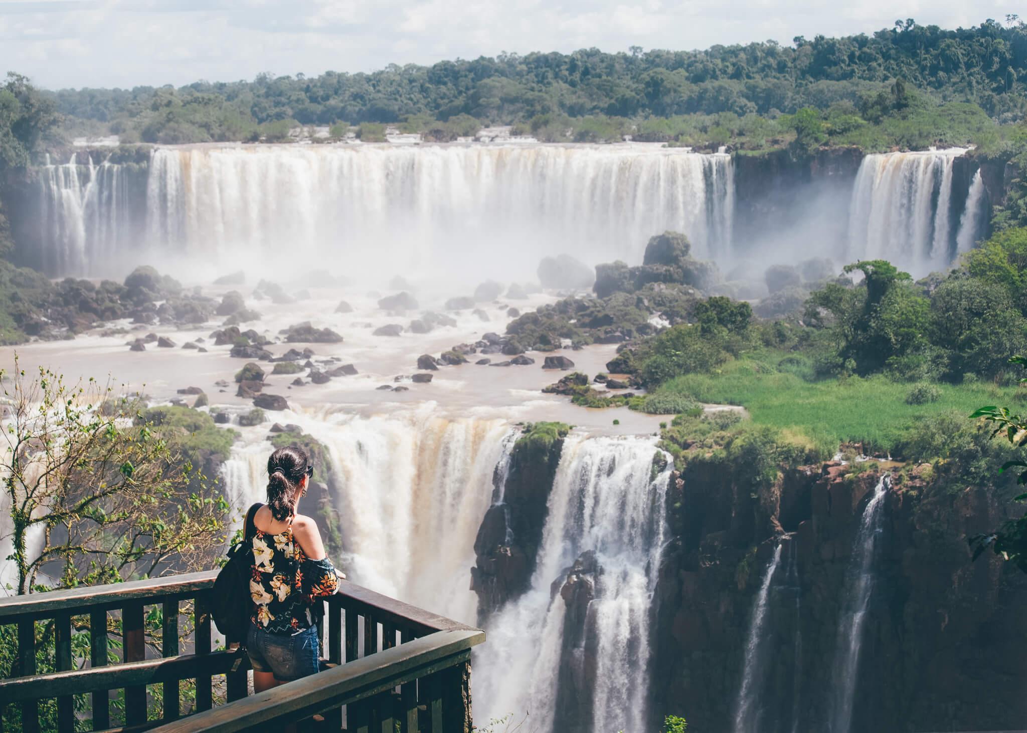 Simplesmente não tem como não parar para fotografar em todos os mirantes das Cataratas do Iguaçu