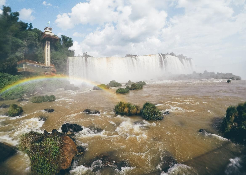 Cataratas do Iguaçu - arco-íris