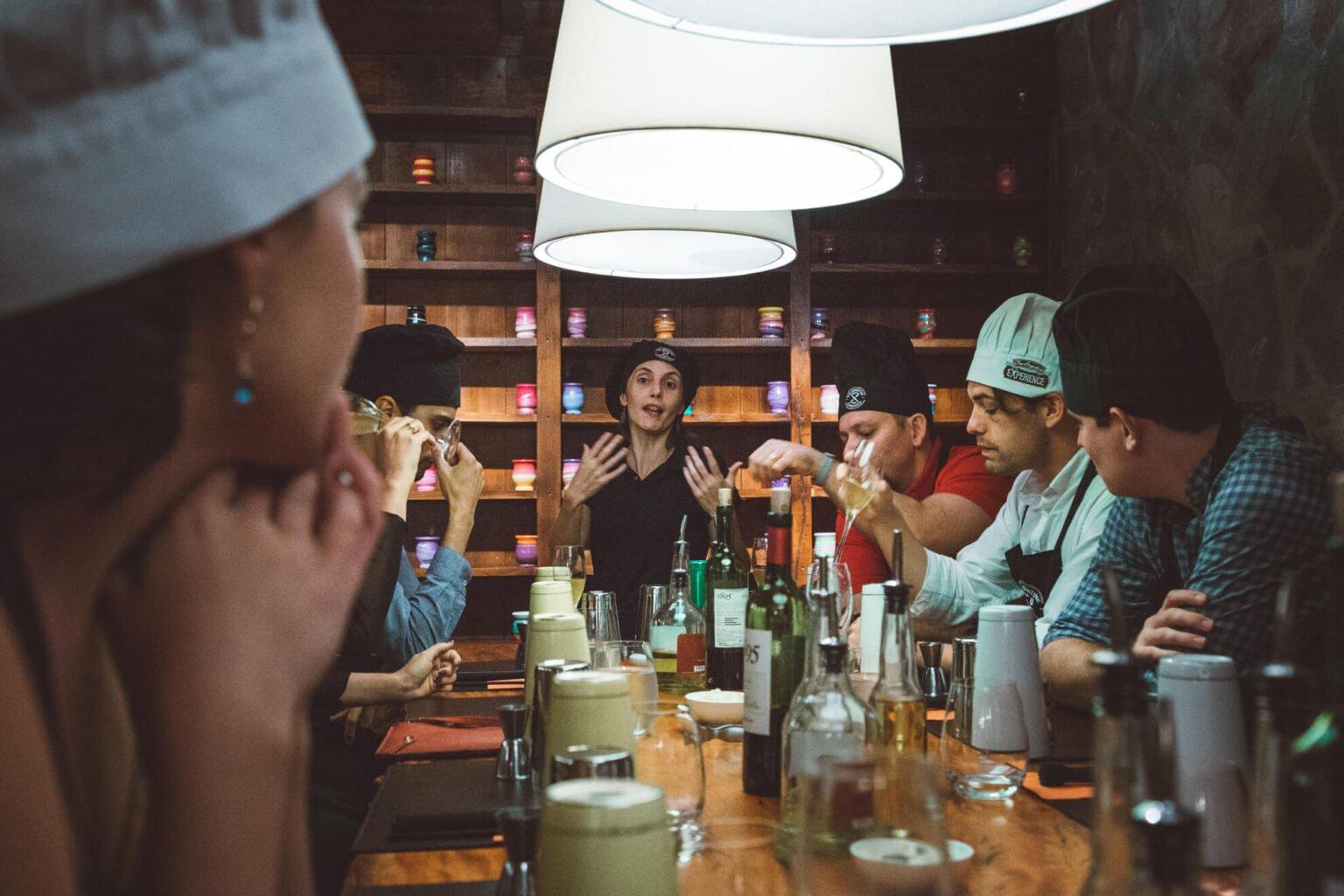 Aula de drinks
