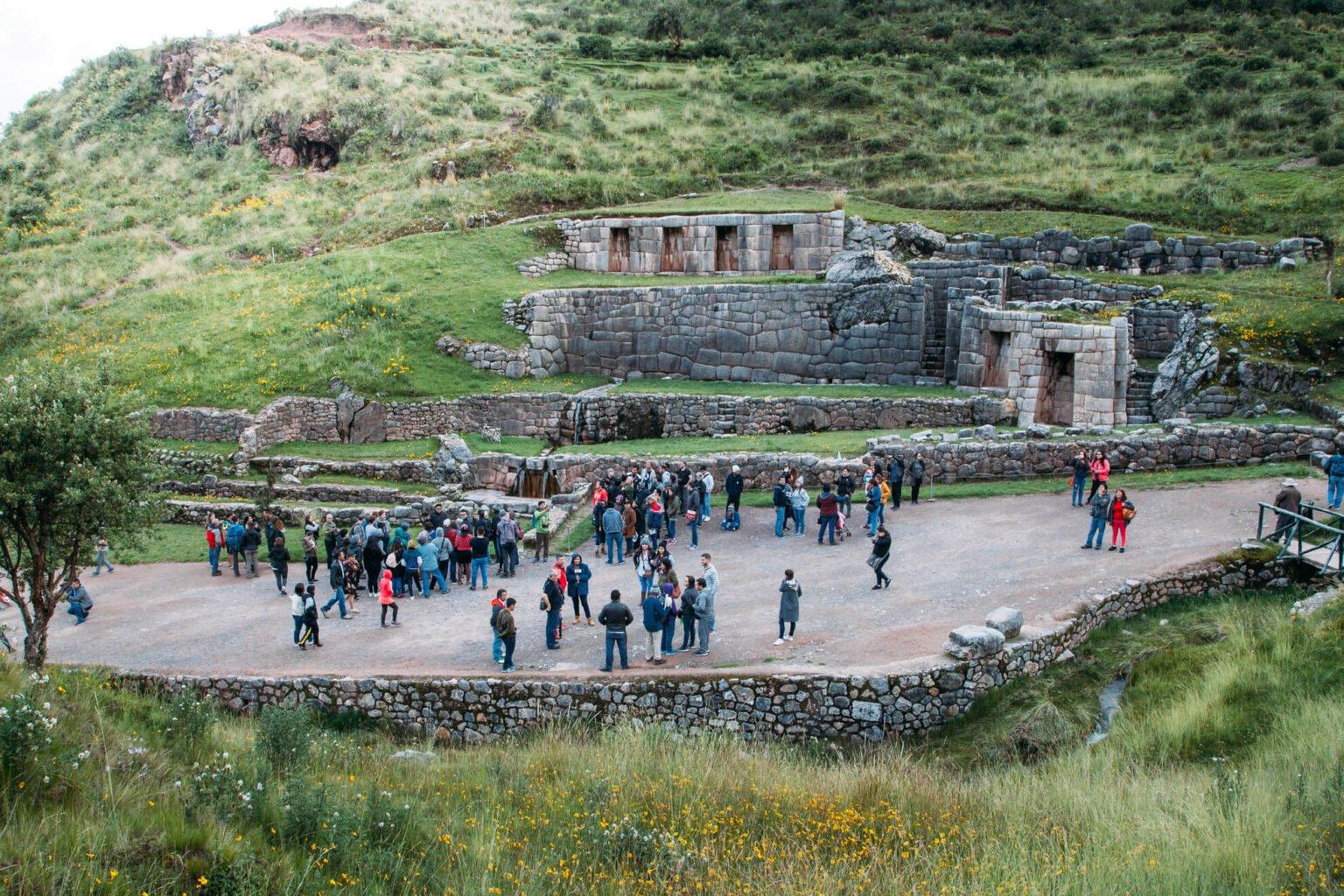 Tambomachay e suas fontes | City Tour em Cusco