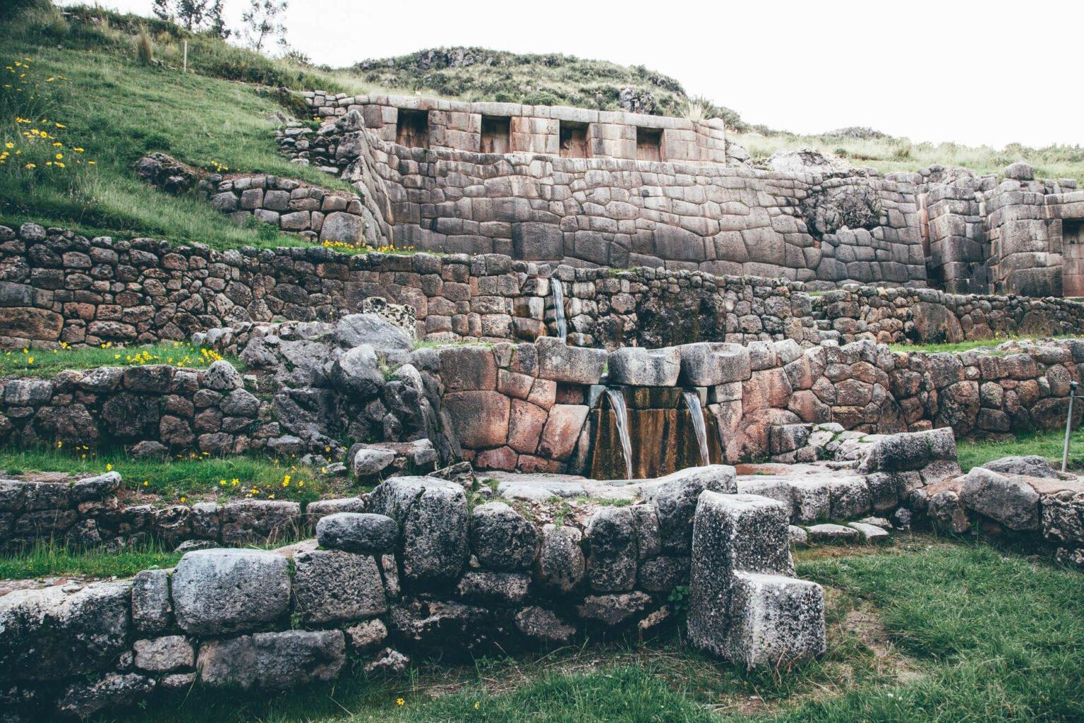 Fontes de Tambomachay | O que fazer em Cusco, no Peru