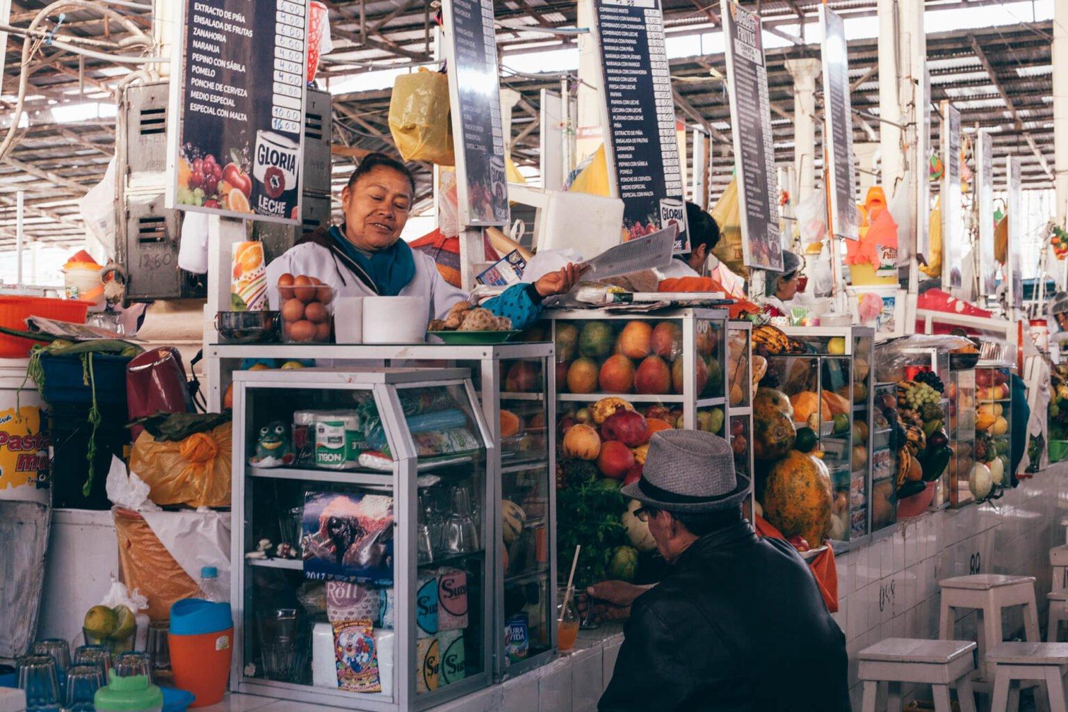 Mercado de San Pedro | O que fazer em Cusco, no Peru