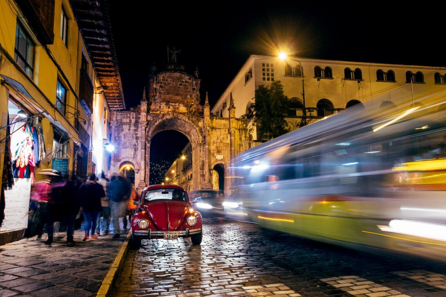 Cusco à noite | O que fazer em Cusco, no Peru