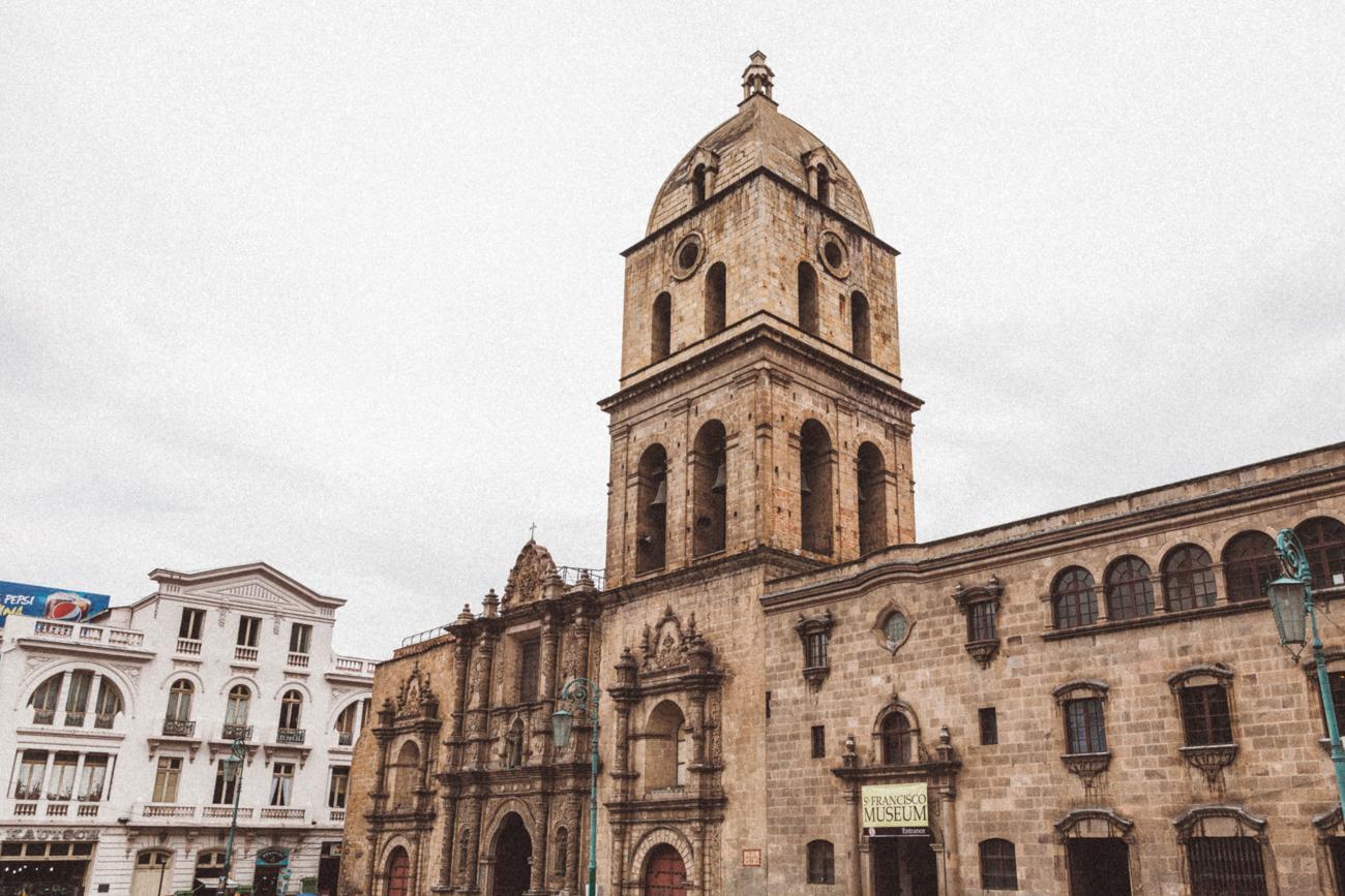Igreja de San Francisco, em La Paz