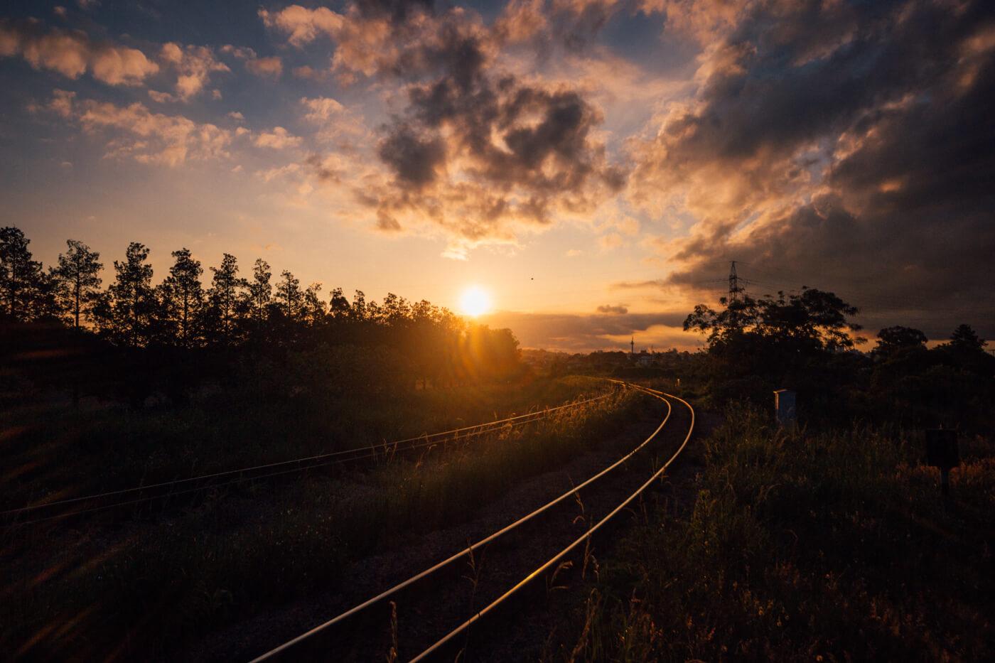 trem curitiba morretes dicas | pôr do sol