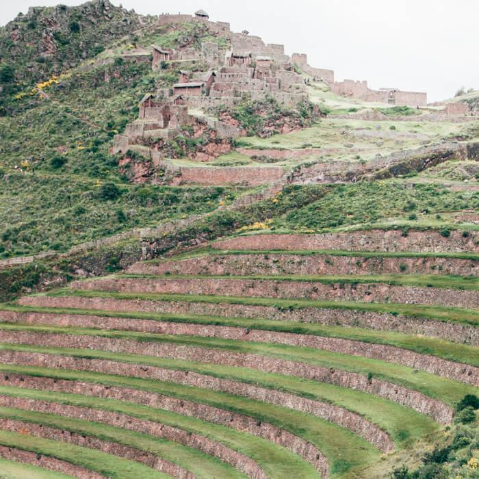 A cidade inca de Pisac