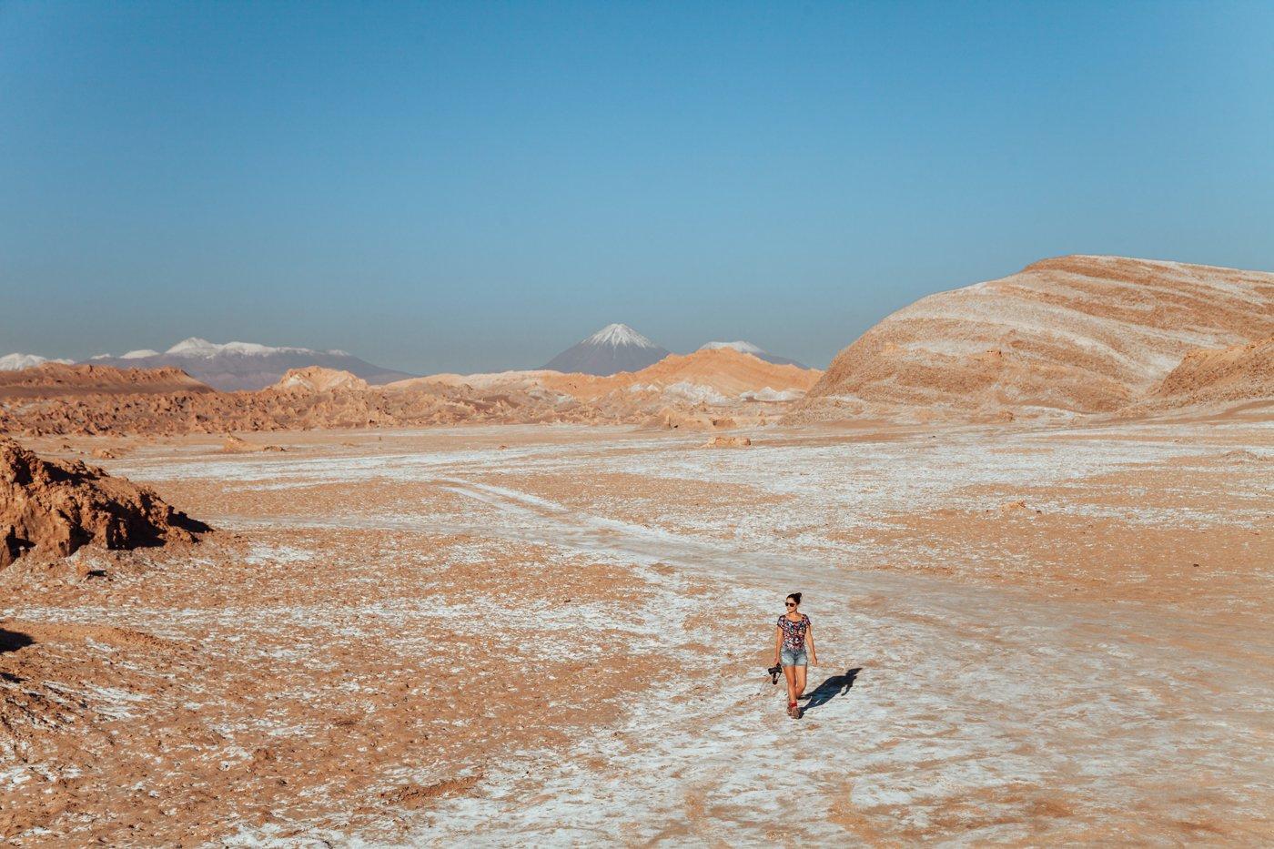 A imensidão do Deserto do Atacama