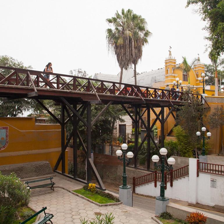 O que fazer em Lima: Ponte dos Suspiros