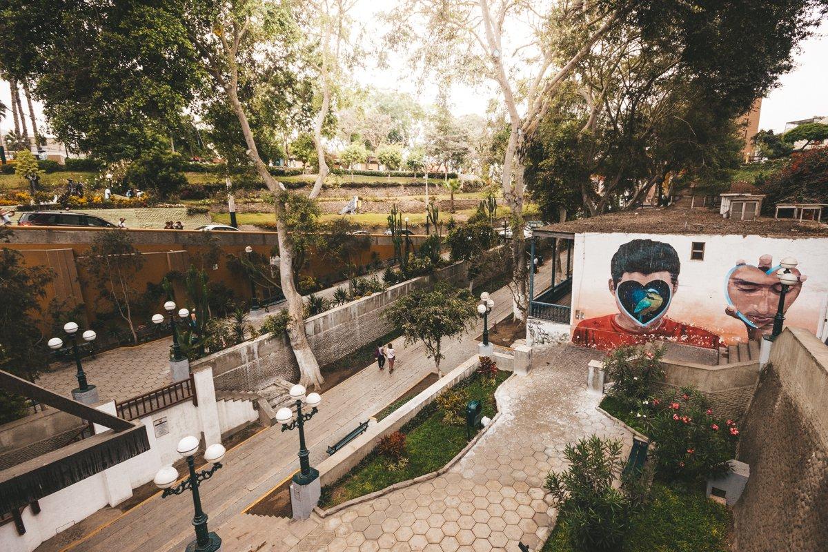 O que fazer em Lima, Peru: Clique feito do alto da Ponte dos Suspiros
