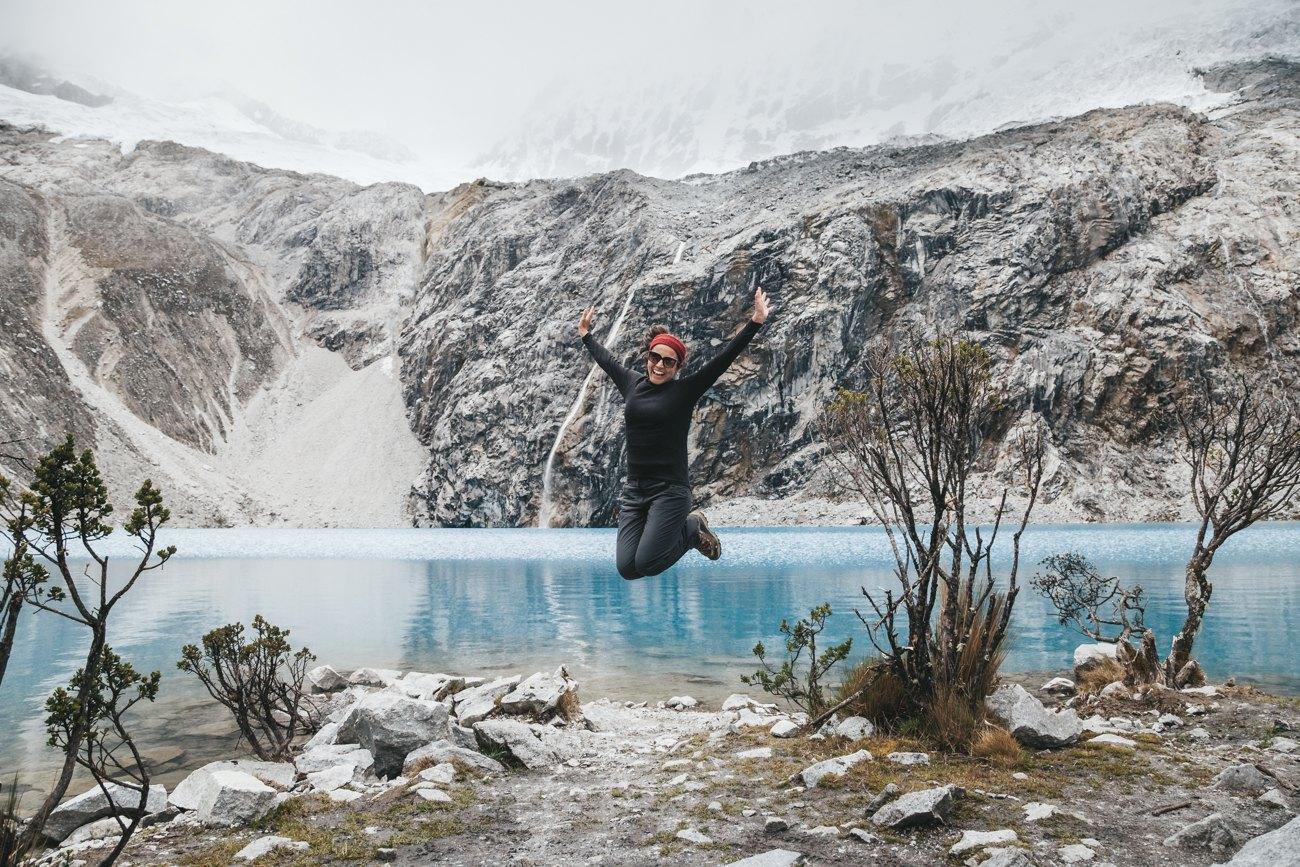 Mochilão Chile Bolívia Peru - Laguna 69