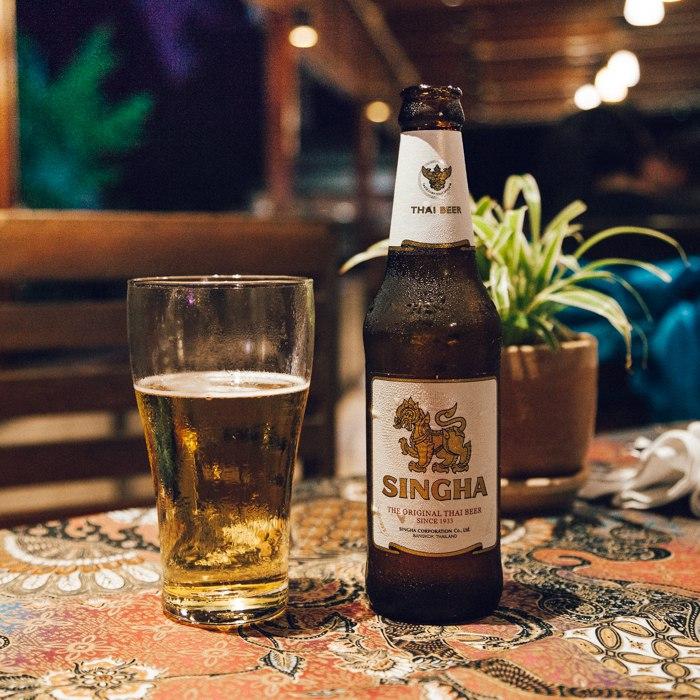 Singha: uma das cervejas tradicionais da Tailândia