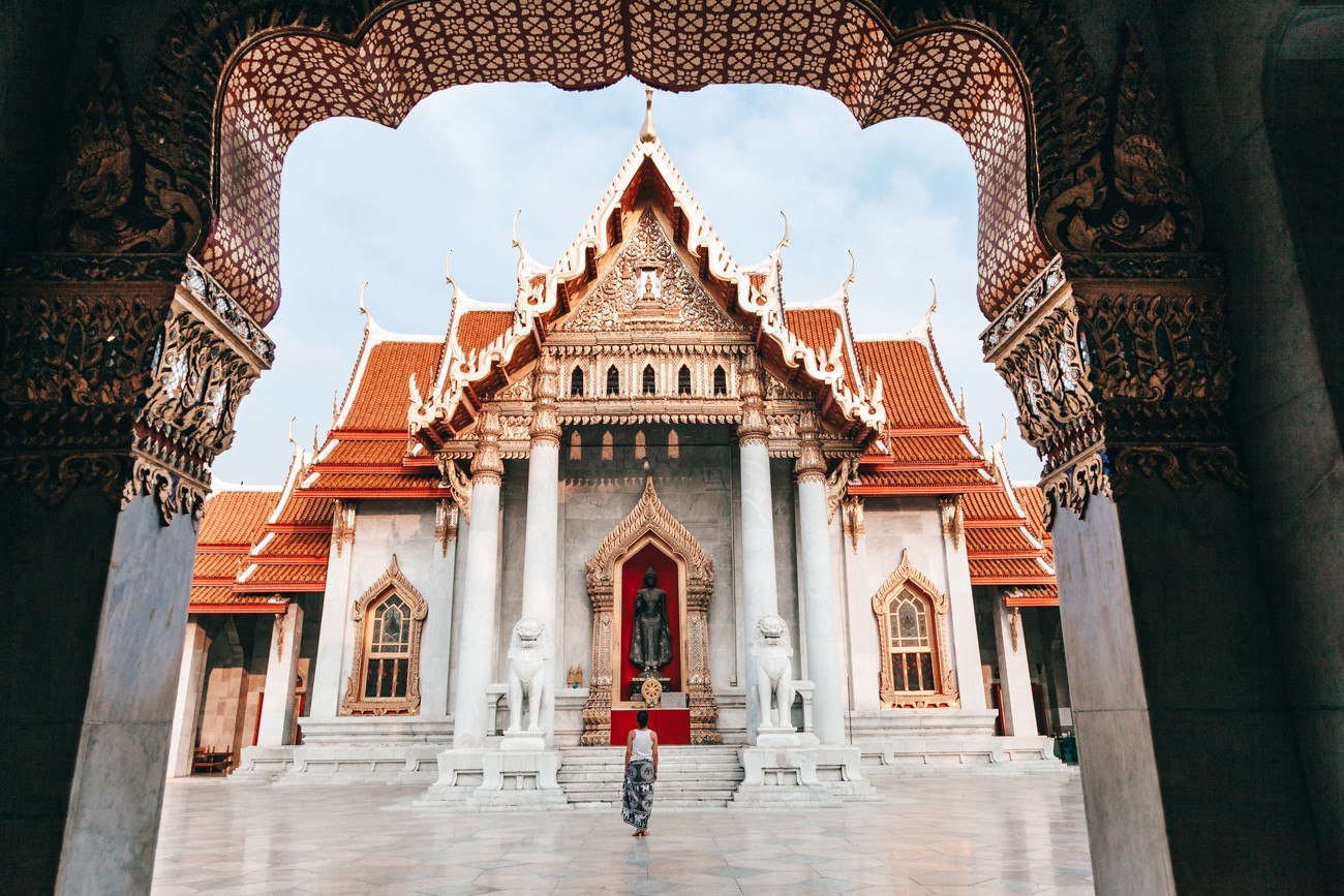 O que fazer em Bangkok - Wat Benchamabophit