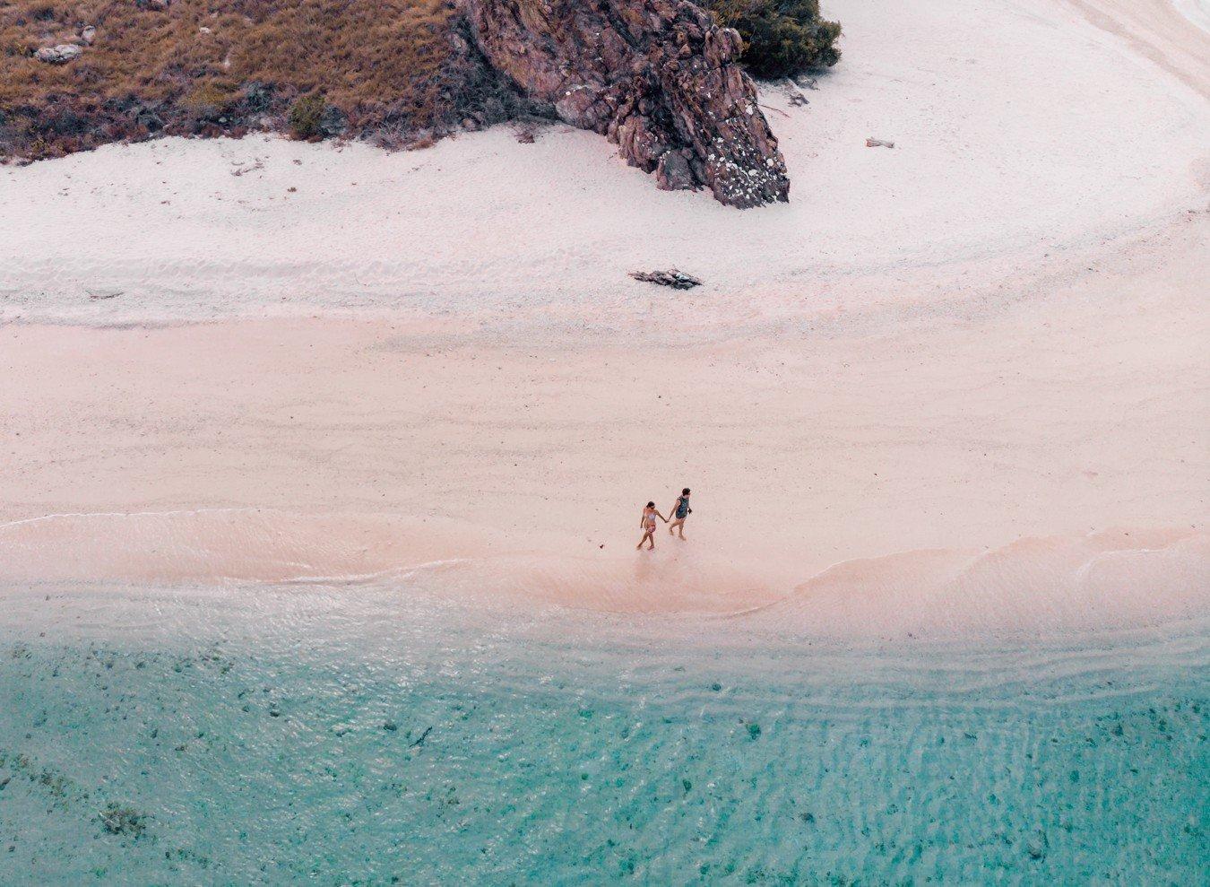 Komodo - Mawan (praia de areia rosa)