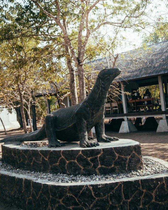 Parque Nacional de Komodo - Dragão de Komodo