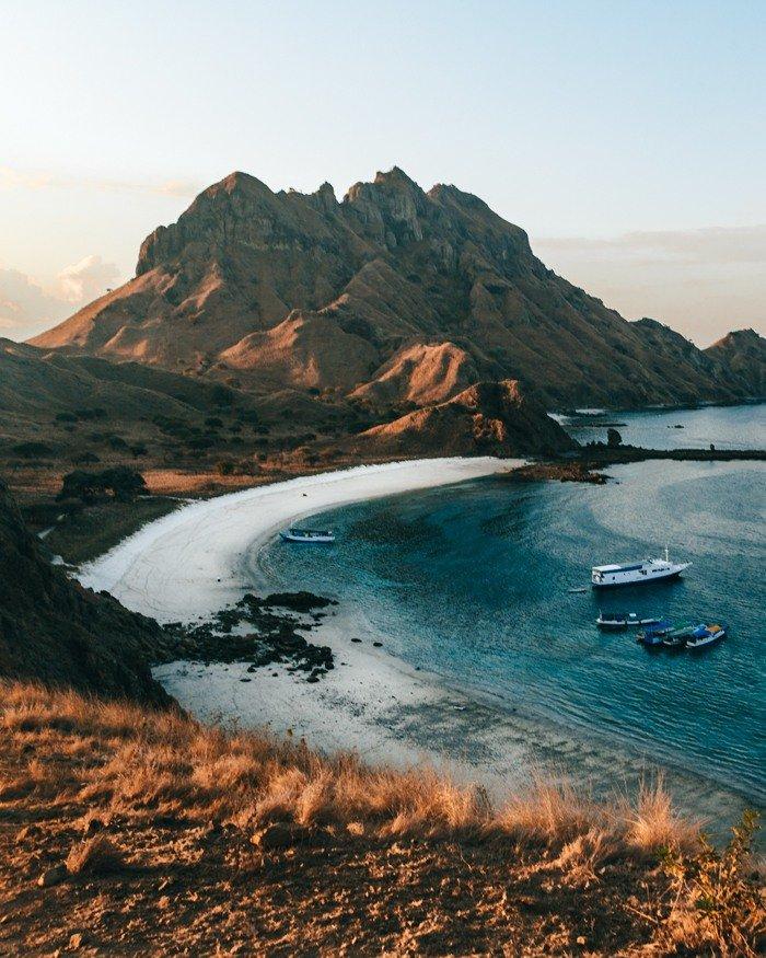 Komodo, Indonésia - ilha Padar