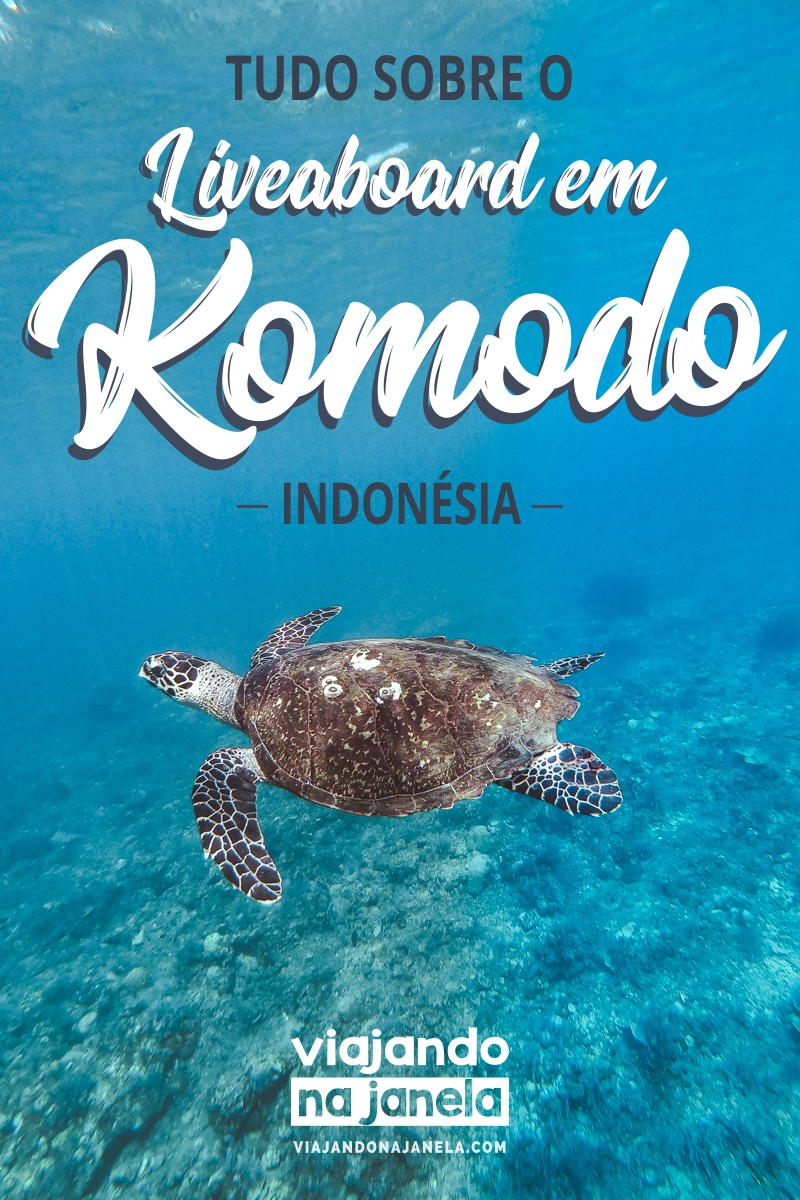 Liveaboard em Komodo, Indonésia - tudo o que você precisa saber