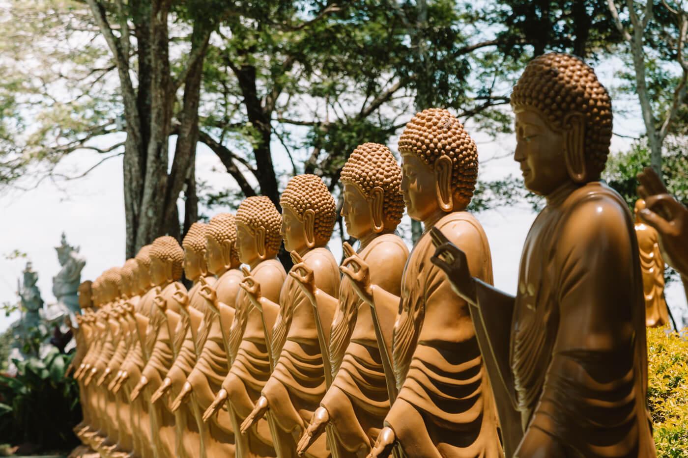 o que fazer em Foz do Iguaçu - Templo budista Chen Tien
