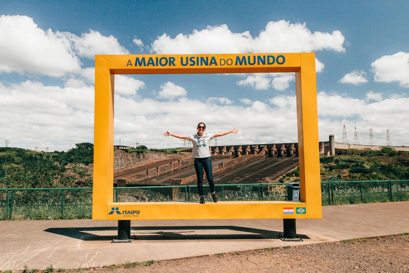 o que fazer em Foz do Iguaçu - Itaipu é a maior usina do mundo em geração de energia