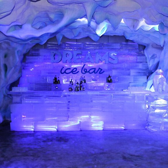 Foz do Iguaçu Barde Gelo - Créditos Dreams Ice Bar