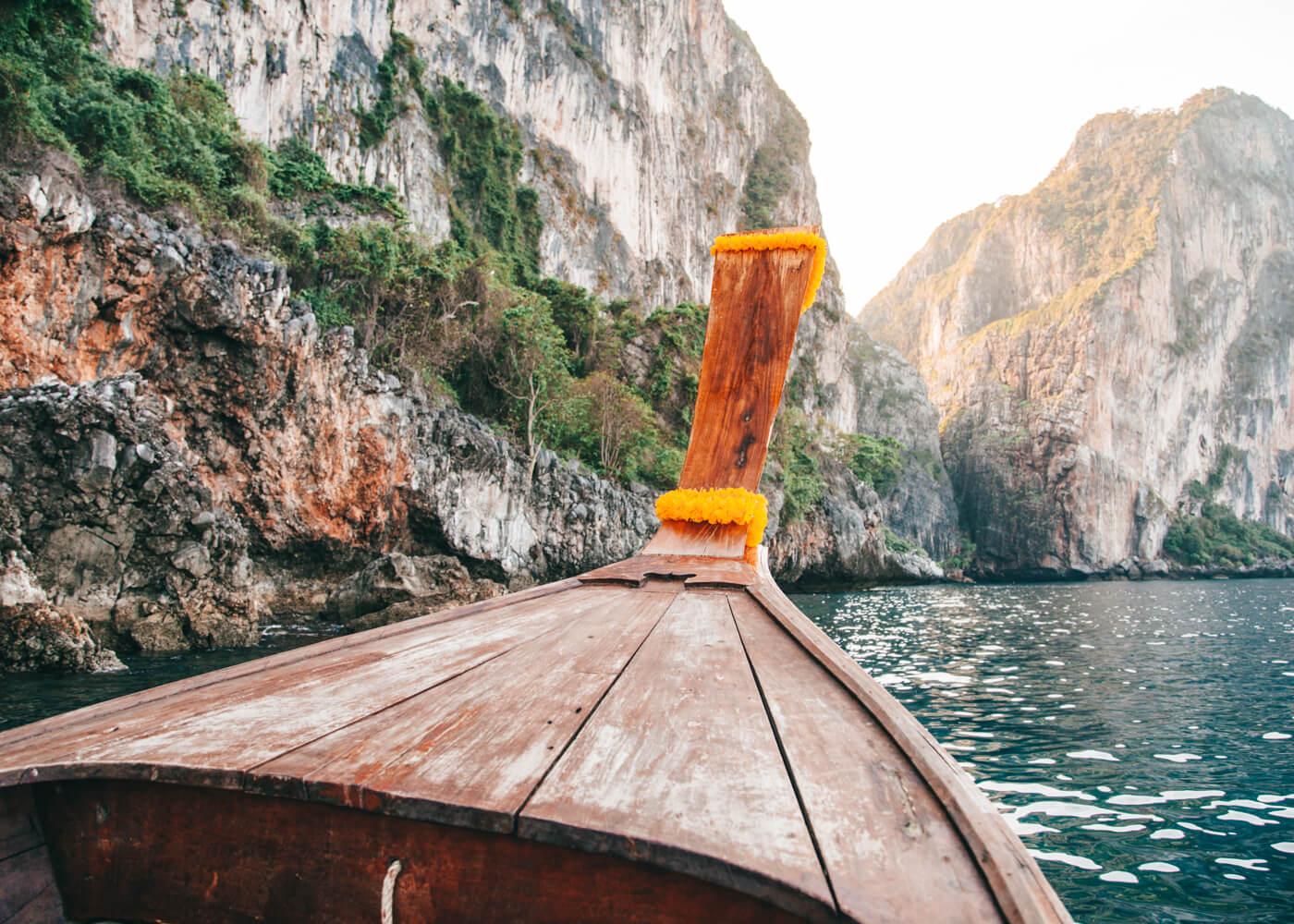 Indo para Maya Bay - Phi Phi Island