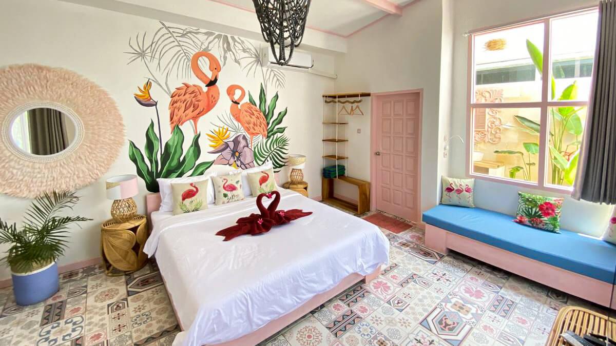 Onde ficar em Bali - Flamingo