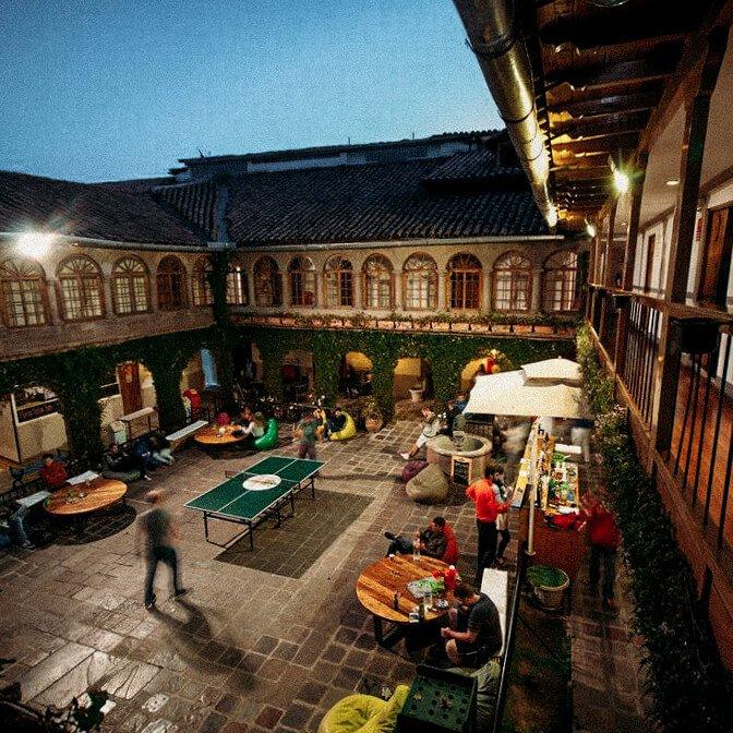 Onde ficar em Cusco - pariwana hostel